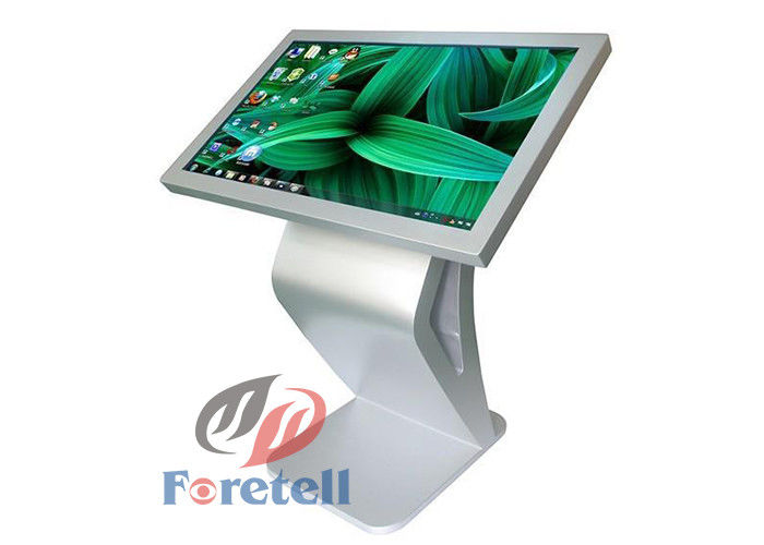 3G / WiFi / Wan Wireless Indoor Digital Signage Self Service Terminal 16.7M Display Color
