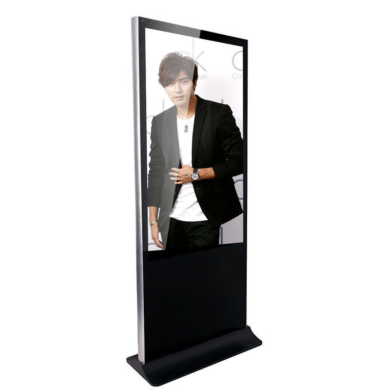 Floor Standing Remote Control Indoor Digital Signage Kiosk User Friendly Software