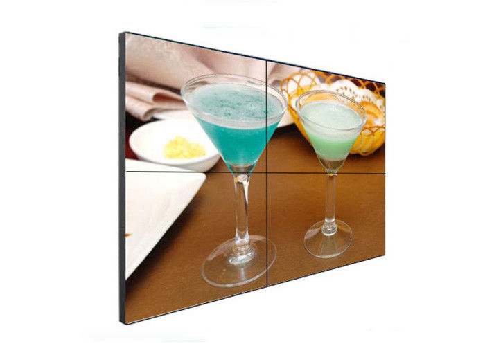 3.5MM Bezel FHD Wall Video Screens , Indoor Video Wall Panels 1092x1080 Resolution